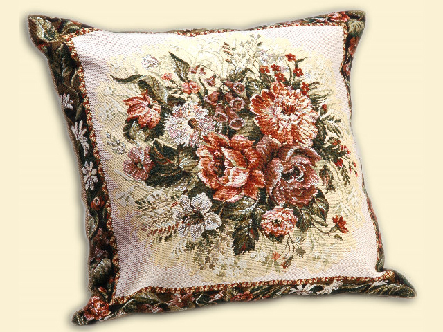 Подушка декоративная из гобелена своими руками