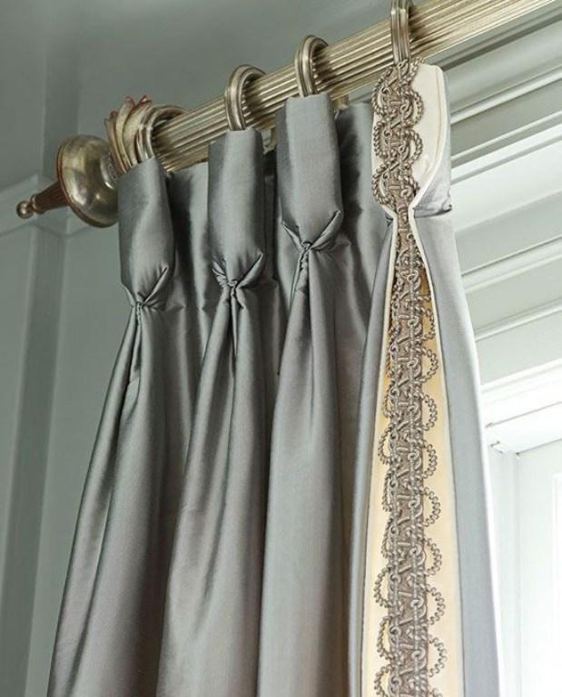 Как сделать шторы из тесьмы